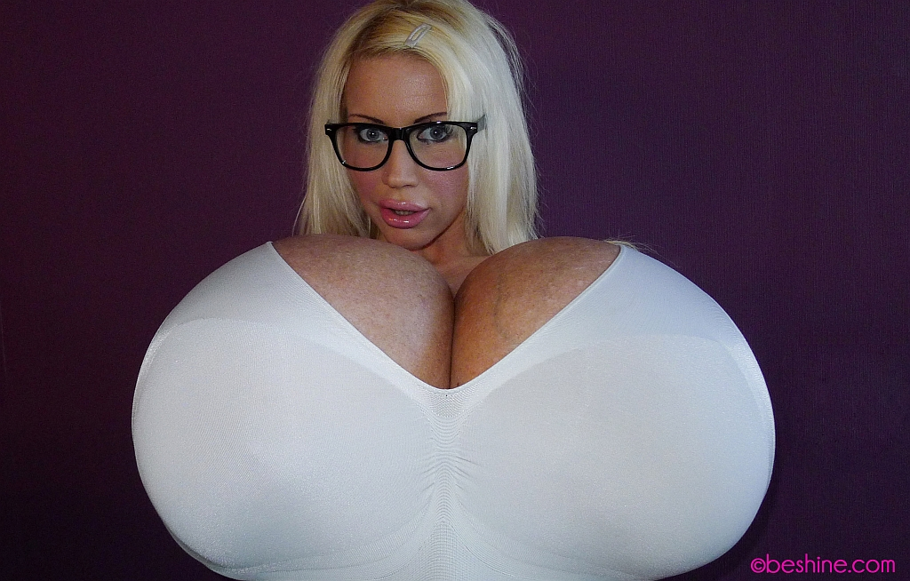 Beshine has the worlds biggest boobs